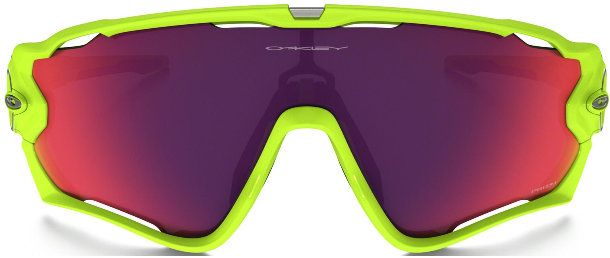 6e19bd4f22a06d Oakley Jawbreaker - Lunettes cyclisme - jaune rose - Boutique de ...